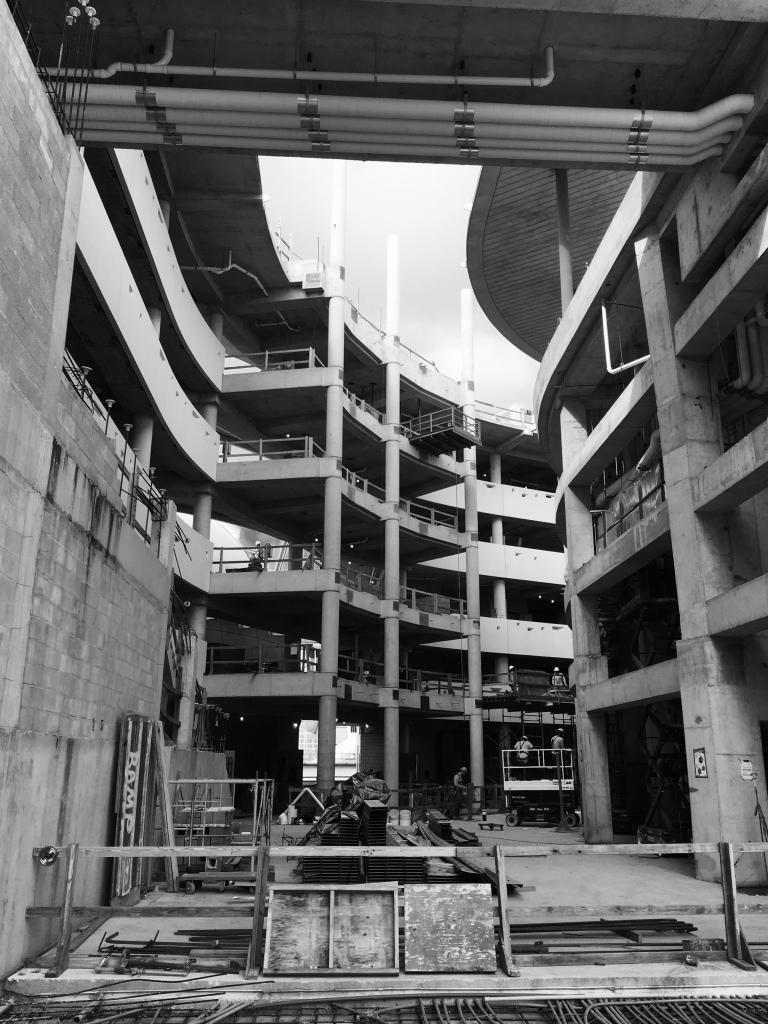 Future Patricia and Phillip Frost Museum of Science Atrium (November, 2015)