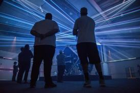 LASERsHOW: Light, Color and Geometry, an innovative exhibition concept that will welcome you to an immersive contemplative experience about the wonders of lasers and light itself envisioned by renowned artist Matthew Schreiber.